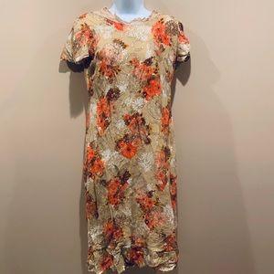 Vintage flower dress